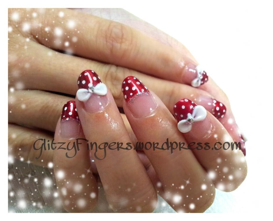 Gelish + Manicure + Nail Art + Polish + Nails