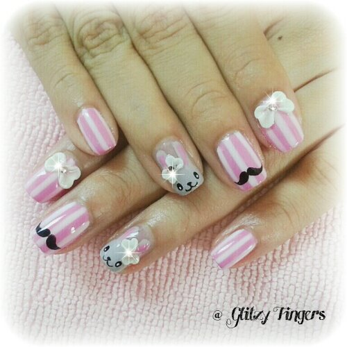 nail art + nail design + nail love + hand painted + nail style + nail pattern + gelish art + gelish nail + gel art + manicure + mani + singapore nails + nail parlour + nail galleria + nail gallery + nail art gallery