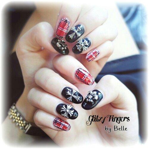 Manicure + Hand Studded + Hand Painted + Lovely Nails + Pretty Nails + Gel Art + Gel Nails + Gel Designs + Nail Of The Day + Sg Nails + Sg Nail Parlour + Long Nails + Nail Addict + Acrylic Nails + November Nails