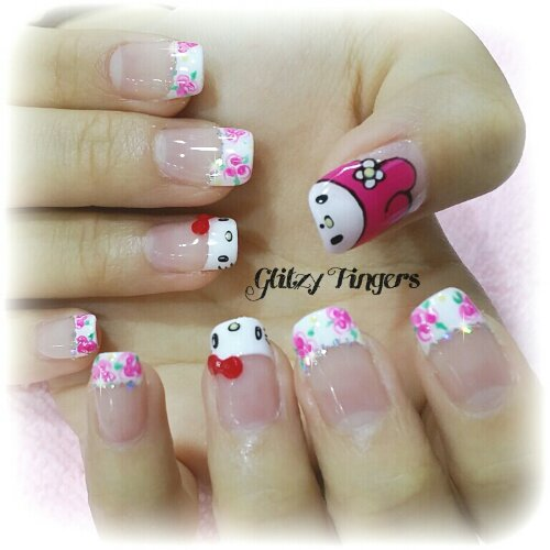 Nail Art Of The Month Glitzy Fingers Page 2