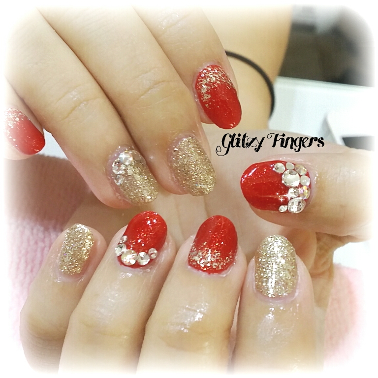Chinese New Year (2) | Glitzy Fingers