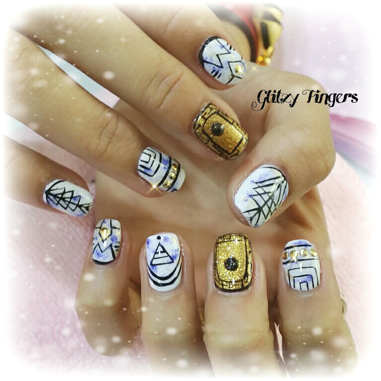 Gel Designs + Nail Art + Nail Designs + Nailstagram +  SgNails + Egyptian Nails + Manicure + Nailoftheday + gelnails + angelprogelly + Nailfashion + Nail trend + Nailartist + Shiny Nails + Gold Nails + Gold Gel Designs + Singapore Nails + SgigNails + FrenchNails + Pinkroom Nails + Nailgasm