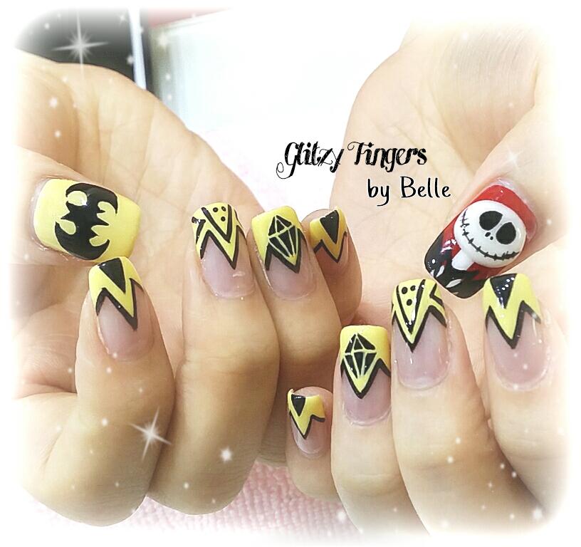 Nail Designs Glitzy Fingers Page 2