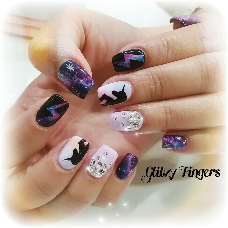nails + Nail art + Nailstagram + nail designs + sgnails + pretty nails + gel nails + nail art of the day + gelish + gelish nails + nailgasm + sgignails + singapore nails + Manicure + Manicurist + pinkroom nails + angelpronail + cute nails + angelprogelly + sgig + nail fashion + nail artist + potd + nail trend + hand drawn + hand painted + galaxy nails + unicorn nails + sweet nails + Shiny nails + party nails + studded nails + pink nails  +