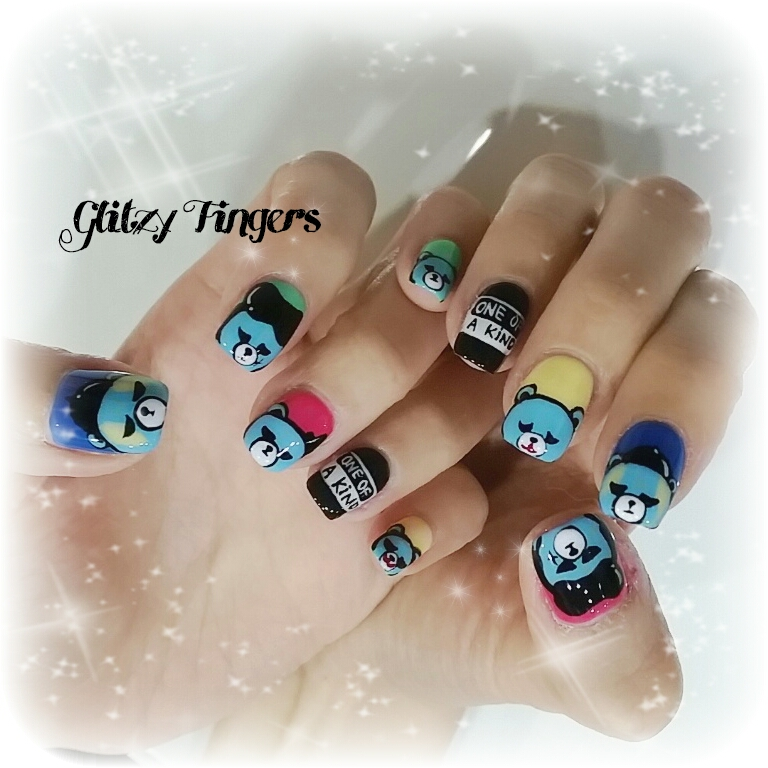 nails + nailart + nailstagram + naildesigns + sgnails + prettynails + gelnails + nailartoftheday + gelish + gelishnails + nailgasm + sgignails + singaporenails + pinkroomnails + angelpronail + cutenails + manicure + angelprogelly + sgig + nailfashion + nailartist + potd + Rilakkuma nails + cartoon nails + cute nails + attractive nails + pretty nails + trendy nails + nail of the month + one of a kind nails + Kpop nails + Nail inspiration + Nailspiration