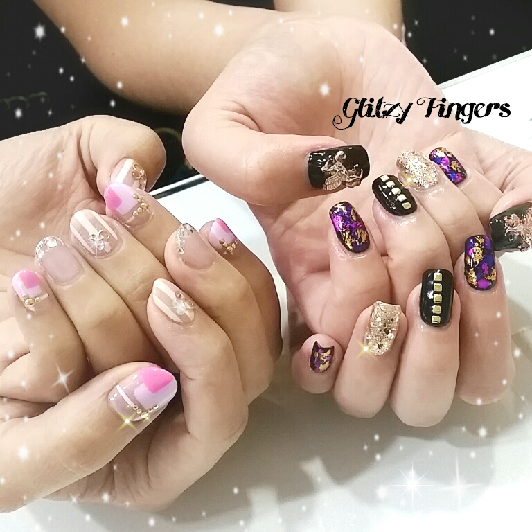 nails + nail art + wordpress nails + nailstagram + nail designs + sg nails + pretty nails + gel nails + nail art of the day + nail art of the month + nail patterns + cute nails + Singapore nails + Sg manicurist + gelish nails + nailgasm + sgignails + manicure + angelpronail + pink nails + plait nails + trendy nails + nail inspiration + nailspiration + angelprogelly + nail trend of the month + hand drawn + hand painted + studded nails + pink nails + pink theme nails + black theme nails + popular nails + best friend nails + Twins nails + lines nails + foil nails + shiny nails + cool nails + sweet nails + party nails + wedding nails + sisterhood nails +