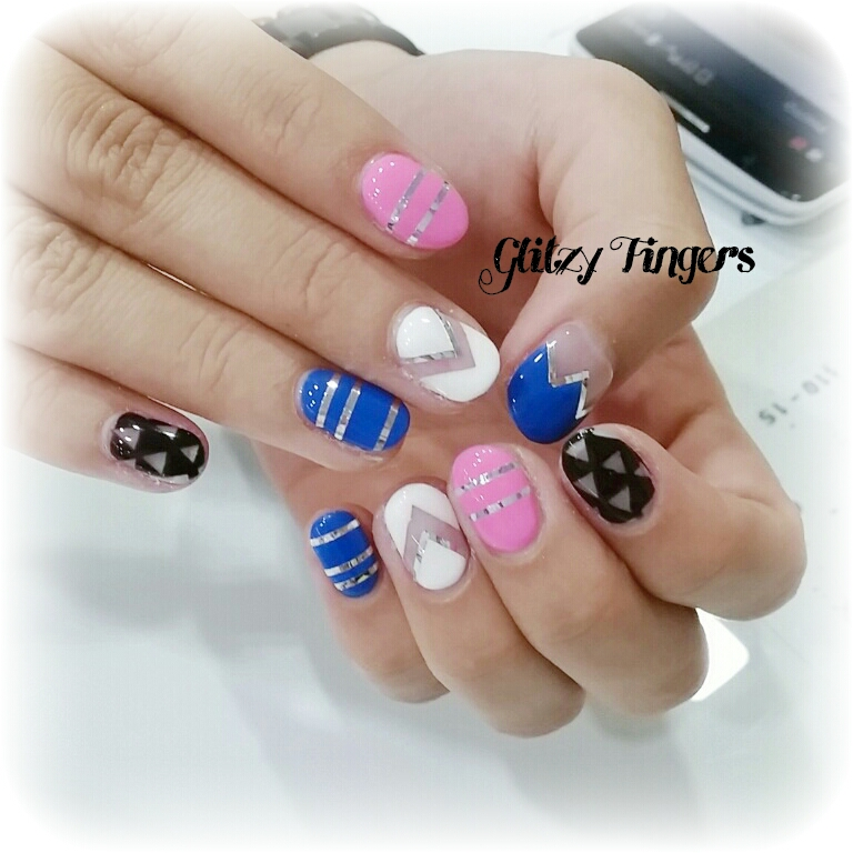nails + nailart + nailstagram + wordpress nails + nail designs + sg nails + pretty nails + gel nails + nail art of the day + nail art of the month + Nail designs 2015 + gelish + gelish nails + nailgasm + sgignails + singapore nails + pinkroomnails + angelpronail + cute nails + manicure + nail artist + potd + trendy nails + nail trend of the month + geometric nails + foil nails + simple nails + simplistic nails + party nails + cool nails + simple shape nails +