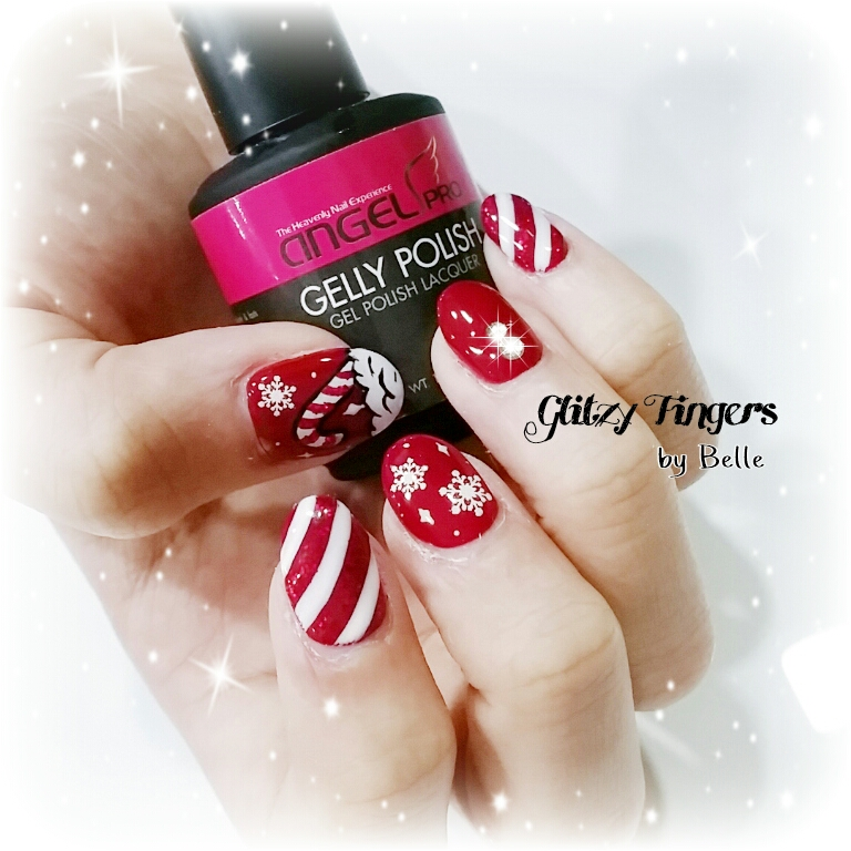 nail art + nails + festive nails + nail of the day + nail of the month + wordpress nails + Christmas nails + Singapore Nails + Sgnails + Sgignails + Pinkroom nails + Gel Nails + Gel Designs + Angelpro nails + gel manicure + manicure + Seasons nails + Holiday nails + Nailgasm + Nailspiration + Trendy Nails + Santa Clause nails + hand Drawn + Hand Painted + candy cane nails + Snow flakes nails + Red and White Nails + Themed Nails + Nail Trend 2014