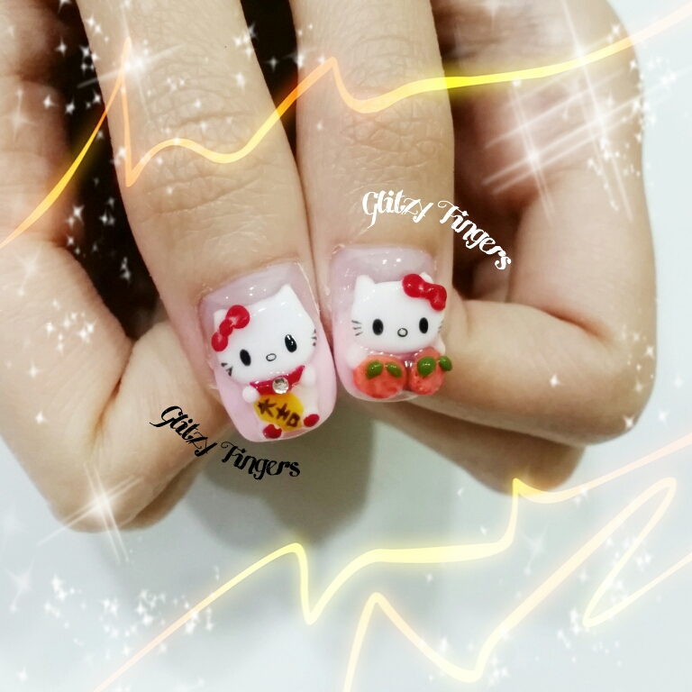 nails + nail art + nailstagram + nail designs + sg nails + sgignails + pretty nails + gelish nails + gel nails + nail art of the day + nail art of the month + festive nails + singapore nails + nailgasm + angelpronail + cute nails + nail artist + manicure + Singapore Manicure + potd + Fortune Cat Nails + Cartoon Nails + Hello Kitty Nails + 3D Nails + Pop Out Nail Art + CNY Nails + CNY Nail Art + Red Nails + Red Theme Nails +